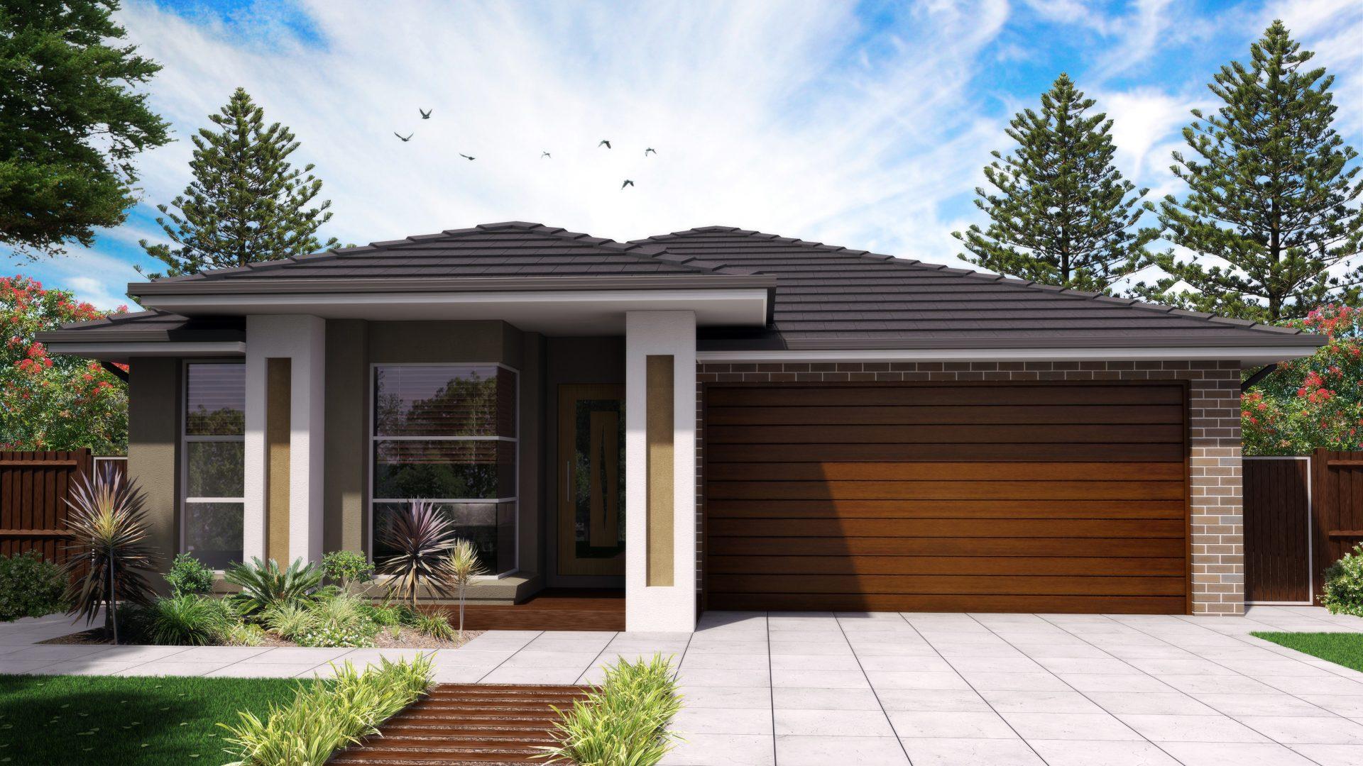 Esprit 26 Modern Facade Jandson Homes