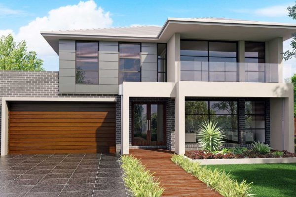 Australis 30, Modern Façade with Balcony