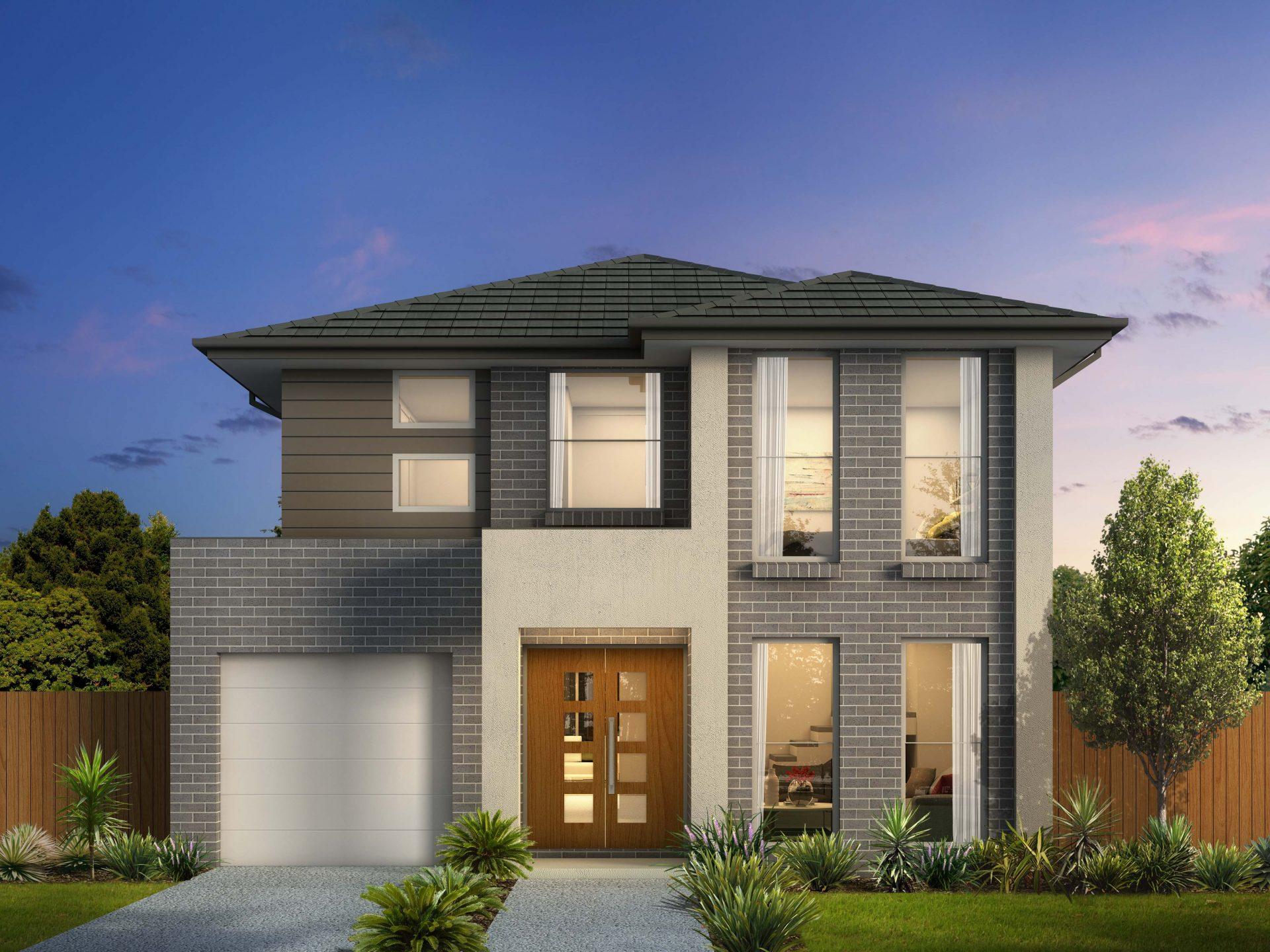 Modern Two Storey Home Designs