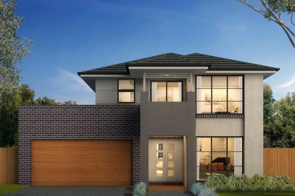 Ceres 32, Modern Façade with Balcony New Home Design Sydney
