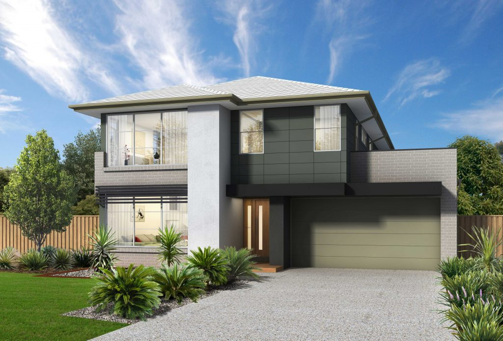 Stellar 31 Modern Façade No Balcony - Jandson Homes