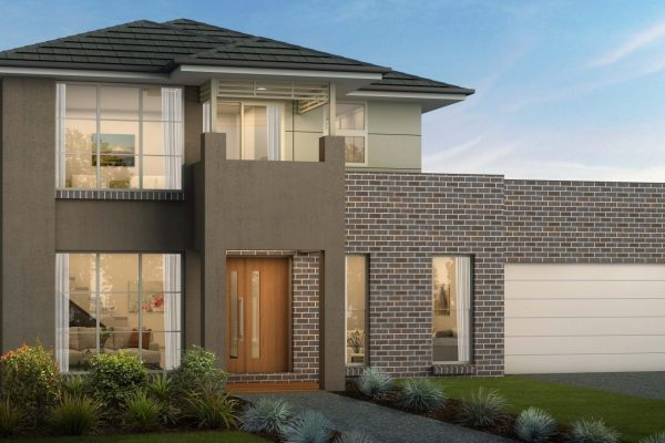DOUBLE STORY HOME BACKING ONTO THE GOLF COURSE ON A 700 SQM LOT